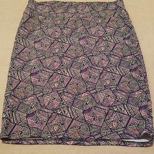 EUC Lularoe Cassie skirt size 2XL